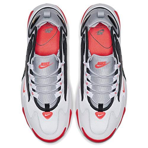 (ナイキ) Nike Zoom 2K AO0269-105 ホワイト レッド グレー ブラック ズーム スニーカー [並行輸入品]