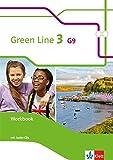Green Line 3 G9: Workbook mit 2 Audio-CDs Klasse 7 (Green Line G9. Ausgabe ab 2015) -
