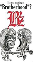 """B'z The true meaning of """"Brotherhood"""" VHS"""