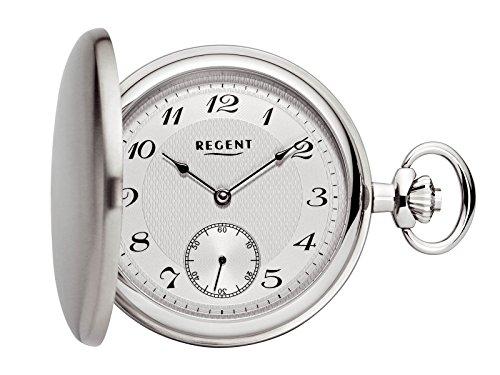 Regent - Taschenuhr - Mechanisch - Silber - Edelstahl - P65