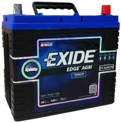 Exide Edge FP-AGM51R Sealed Automotive Battery