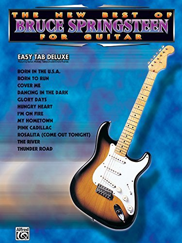 The New Best of Bruce Springsteen for Guitar: Easy Tab Deluxe (The ...