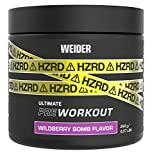 Weider HZRD Ultimate Pre Workout, Wildberry Bomb 500 g