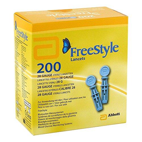 Freestyle Lancets 200 stk