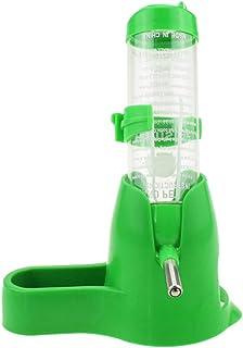 ledmomo ハムスター ボトル 給餌器 給水器 水飲み器 エサやり 水やり エサ入れ 容量80ml ハムスター 鳥 小動物用品(ランダムな色)