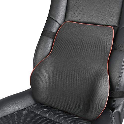 EASY EAGLE Cuscino Lombare per Auto,Autopre Modify Ergonomica Supporto Lombare Cuscino Schiena per Auto Sedia Ufficio Divano Cuscini per Dolore alla Schiena