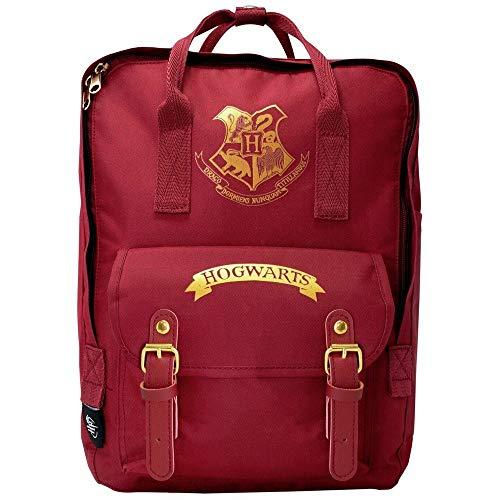 Blue Sky Studios Harry Potter Hogwarts - Mochila escolar unisex para niños y niñas, mochila de lona para acampar, mochila espaciosa para fiestas de pijamas, para portátil