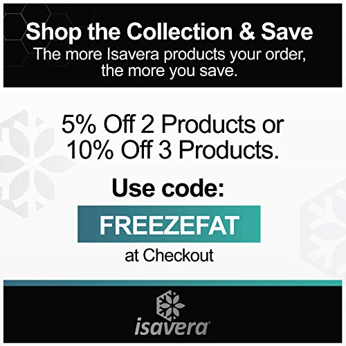 Isavera Arm Fat Freezing System - Arm Fat Freezer and Shaper