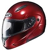 HJC CL-MAXBT II Bluetooth Modular Motorcycle Helmet (Matte Black, Medium)