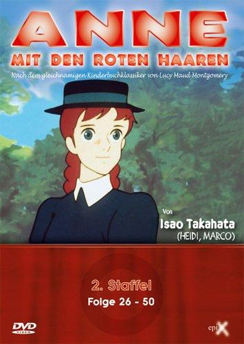 Anne mit den roten Haaren - 2. Staffel, Folge 26-50 (4 DVDs)