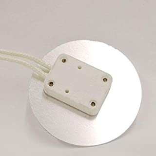 Aluminum Faced Miniature Bi-Pin Socket with 2
