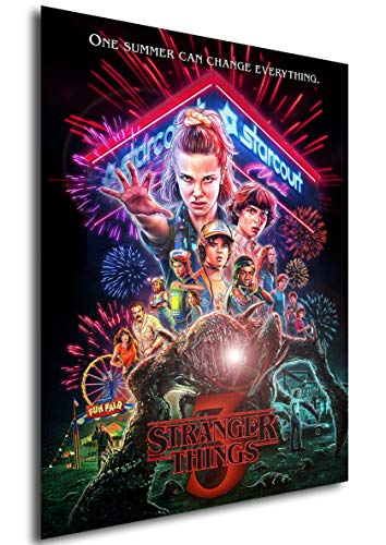 Instabuy Poster - TV Series - Stranger Things - Season 3 Variant A3 42x30