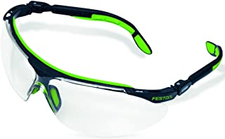 Clear Pack of 10 Standard Uvex 11180029 Polysafe Safety Glasses