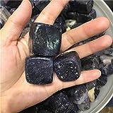 HONGHUA Cubo di Pietra di Sugilite Viola Naturale 100G Pietra di Ghiaia Lucidata Campione di Pietre Naturali E Minerali Happy Fish Tank Stone