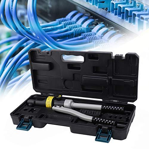 Herramienta engarzadora hidráulica, Engarzadora de cables hidráulica de 16-240 mm², Alta densidad...