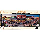 MasterPieces Cityscape Panoramics 1000 Puzzles Collection - Sturgis Panoramic 1000 Piece Jigsaw Puzzle