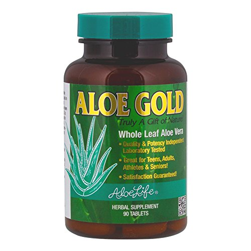 Aloe Life Aloe Gold Tablets, 90 Count