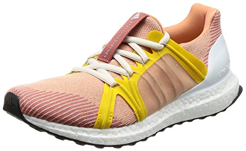 adidas Stella McCartney Womens Ultra Boost Running Trainers Sneakers (UK 7 US 8.5 EU 40 2/3, APROS/PEAROS/SUPYEL CG3684)