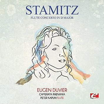 Stamitz: Flute Concerto in D Major (Digitally Remastered)