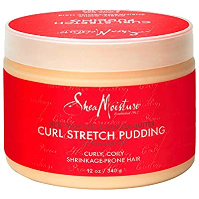 Sheamoisture Curl Stretch Pudding for Curls Red Palm Oil and Cocoa Butter with Shea Butter 12 oz