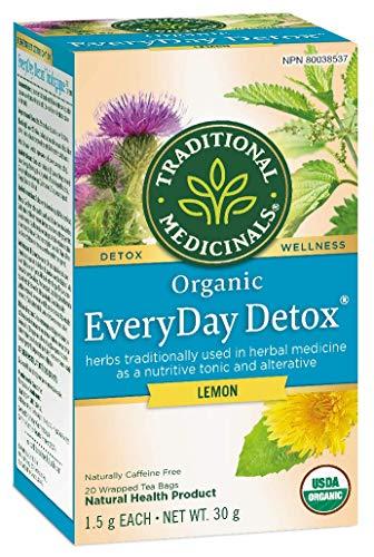 Traditional Medicinals Organic Everyday Detox Lemon, 20 tea bags, 30g