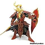 MASpielzeug World of Warcraft Series 3 Blutelfen-Paladin-Actionfigur - Unbegrenzt World of Warcraft-Figur - Hoch 7,8 Zoll