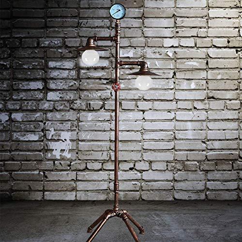 Luz de piso para sala de estar, lámpara de mesa de tubo...