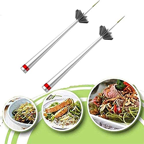 3 Pcs Stainless Steel Plum Blossom Onion Cutter Separator Vietnam Kitchen Tool Thai Cooking Mini vegetable food pull chopper processor 2Pcs