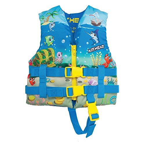 Airhead Children's Treasure Life Vest, Blue, 10088-02-A