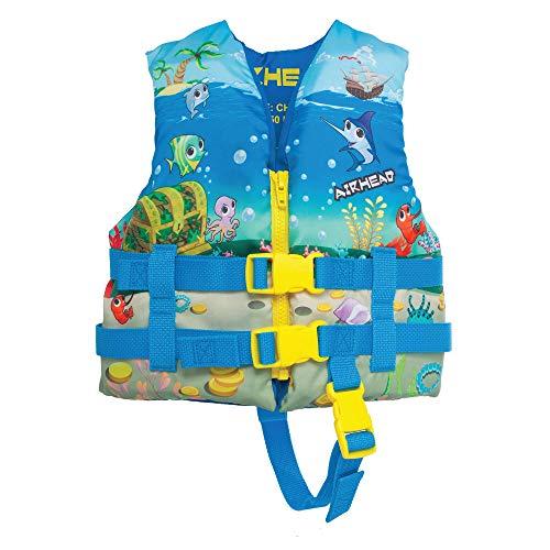 Airhead Infant's Treasure Life Vest, Blue