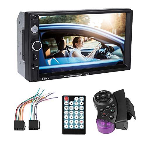 Coche MP5 Player, 7023B 7inch Digital Touch Screen Double Din Wifi Reverse Camera