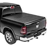 Lund Genesis Tri-Fold, Soft Folding Truck Bed Tonneau Cover | 95065 | Fits 2009-18, 19/20 Classic Dodge Ram 1500 5' 7' Bed (67.4')