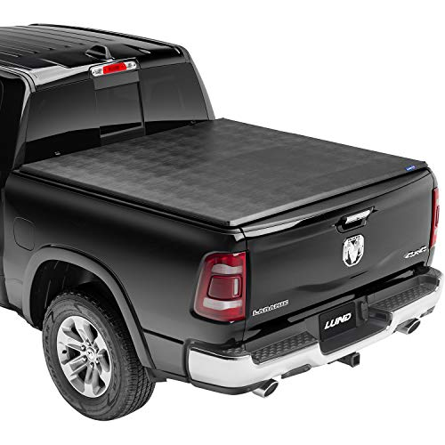 Lund Hard Tri-Fold, Hard Folding Truck Bed Tonneau Cover | 969259 | Fits 2019 - 2021 New Body Style Dodge Ram 1500 New Body Style 5' 7' Bed (67.4')