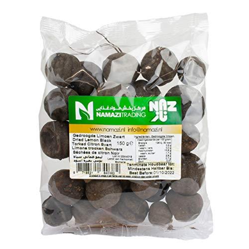 Naz - Schwarze Getrocknete Limetten - Ideal zum Verfeinern von Suppen, Dips und Saucen in 150 g Packung
