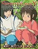 Spirited Away Coloring Book: Spirited Away Stress Relief Coloring Books For Adults