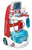 Smoby 340202 - Elektronischer Doktor-Trolley Spiel