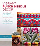 Vibrant Punch Needle Décor: Adorn Your Home with Colorful Florals and Geometric Patterns