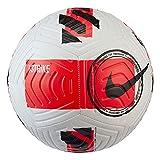 Nike DC2376 Nike Strike Recreational Soccer Ball Unisex-Adult White/Bright Crimson/Black 4