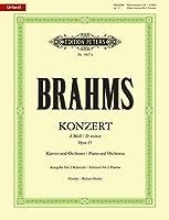 ブラームス: ピアノ協奏曲 第1番 ニ短調 Op.15/原典版/Gerdes/ Badura-Skoda編/ペータース社/ピアノ・ソロ