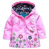 Arshiner Girl Baby Kid Waterproof Hooded Coat Jacket Outwear Raincoat...