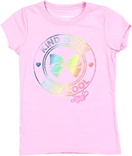 d41ddc3dd Nickelodeon JoJo Siwa Short Sleeve Girls' T-Shirt, Assorted Colors and Sizes