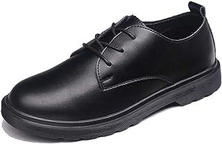 Sygjal Men's Business Oxford Casual Comfortable Round Toe Lace Formal Shoes Black (Color : Black, Size : 47 EU)