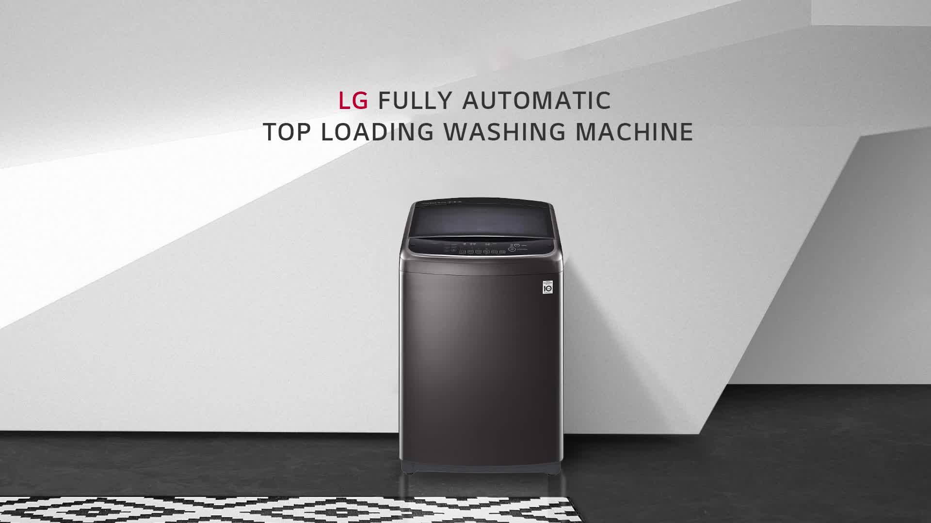 LG 6.2 kg Inverter Fully-Automatic Top Loading Washing Machine ( T7288NDDLG.ASFPEIL, Middle Free Silver) 2021 June Fully-automatic top load washing machine: Affordable with great wash quality, Easy to use Capacity 6.2 Kg : Suitable for bachelors & couples Manufacturer Warranty: 2 years on product and 10 years on motor*T&C