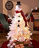 LTD The Lakeside Collection Snowman Tree Topper