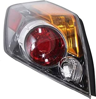 CPP Driver Left Side Tail Light Tail Lamp for 10-12 Nissan Altima