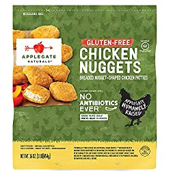 Applegate, Natural Gluten-Free Chicken Nuggets Family Size, 16oz (Frozen)