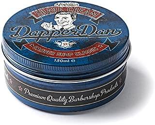 Classic Barbershop Shave Cream by Dapper Dan, Reduces Irritation, Sandalwood Fragrance 150ml