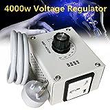 Tutoy 4000W AC 220V Régulateur De Tension Moteur Variateur De Lumière Thermostat