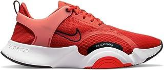 Nike Men's SuperRep Go 2 Soccer Shoe, Chile red/Black-White-Magic Ember, 10 UK