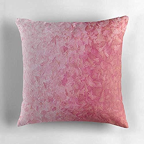 jonycm kussensloop geëtst ijs bubblegum roze perzik gradiënt overlay kussensloop decoratieve kussensloop kussensloop voor familie vrienden